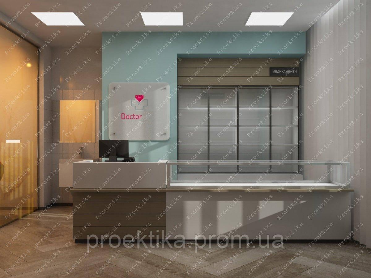 Аптечная мебель в стиле Модерн