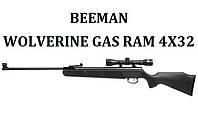Пневматическая винтовка Beeman Wolverine Gas Ram (4x32)