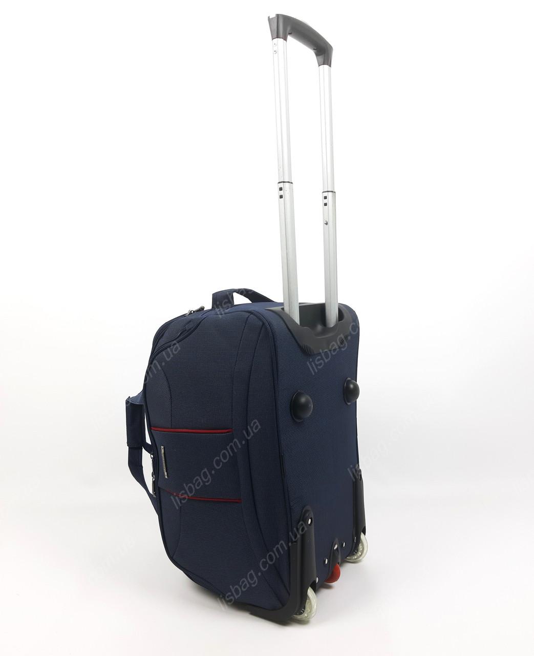 31f16e9b8256 Маленькая сумка на 3х колесах прочная L (40 л) Синяя (51*28*31 ...
