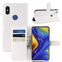 Чехол-книжка Litchie Wallet для Xiaomi Mi Mix 3 Белый