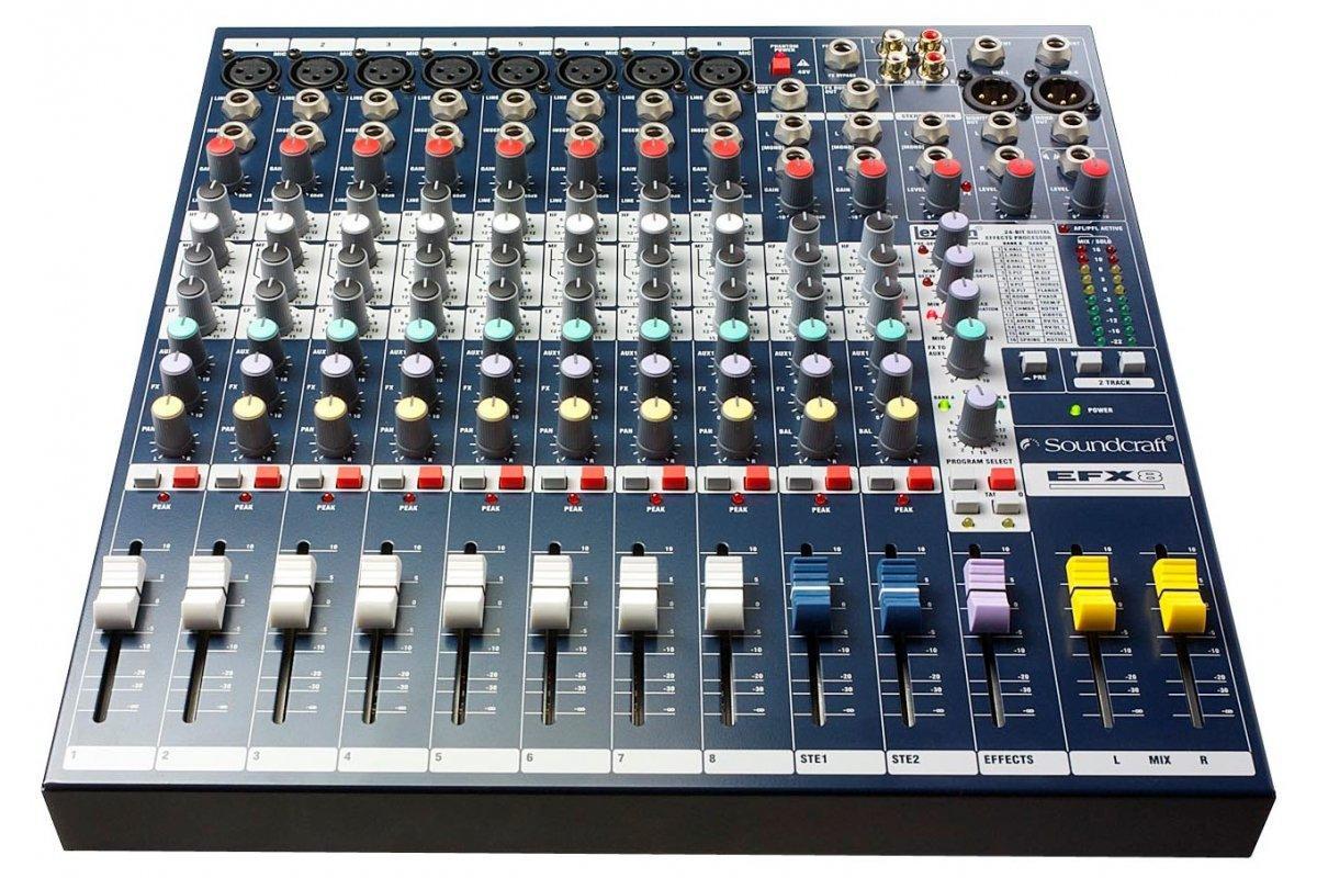 Мікшерний пульт аналоговий SOUNDCRAFT EFX8