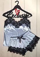 Комплект с кружевом одежда для сна, пижама ТМ Exclusive