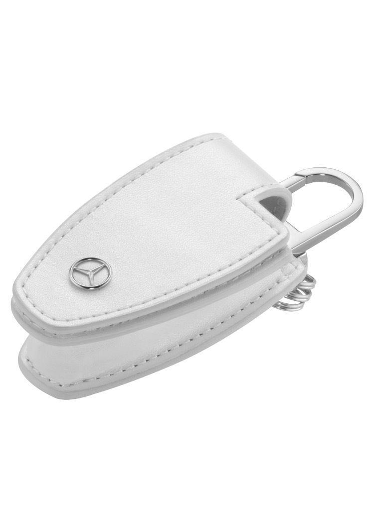 Шкіряний футляр для ключів Mercedes-Benz Key Wallet Gen.5, White (B66958405)