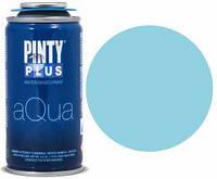 Краска-аэрозоль на водной основе Aqua, Голубая морская, 150 мл, PINTYPLUS