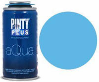 Краска-аэрозоль на водной основе Aqua, Голубая насыщенная, 150 мл, PINTYPLUS