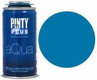 Краска аэрозоль на водной основе Aqua, Голубая, 150 мл, PINTYPLUS