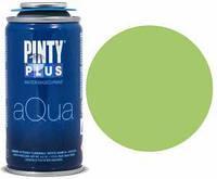 Краска аэрозоль на водной основе Aqua, Зеленая, 150 мл, PINTYPLUS