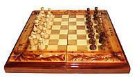 Набор 2 в 1: Шахматы+нарды ручной работы