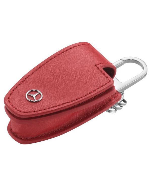 Кожаный футляр для ключей Mercedes-Benz Key Wallet Gen.5 Red (B66958406)