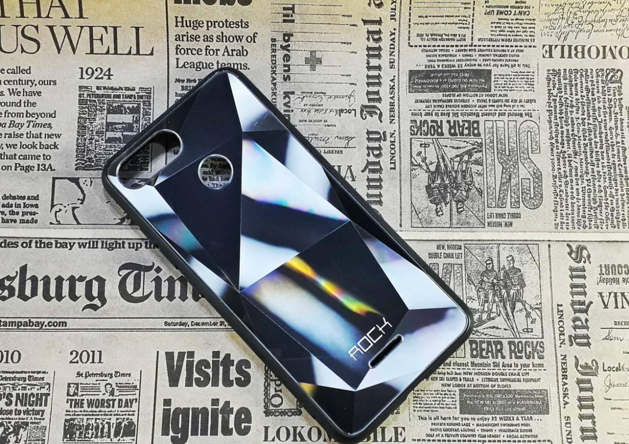 Чохол накладка Rock Case на XIAOMI 6, Silver