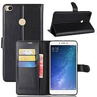 Чехол-книжка Litchie Wallet для Xiaomi Mi Max 2 Черный