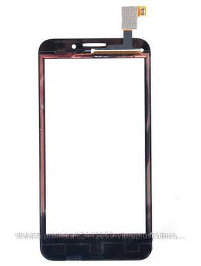 Тачскрин (сенсор) Alcatel S810, black (чёрный), фото 2
