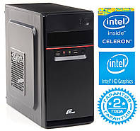 Персональный компьютер Intel Dual-Core G1840 2.8GHz / 4Gb_DDR3 / SSD_120Gb / Intel HD Graphics