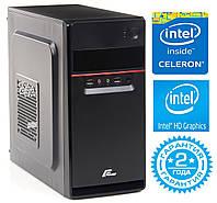 Персональный компьютер Intel Dual-Core G1840 2.8GHz / 4Gb_DDR3 / SSD_240Gb / Intel HD Graphics