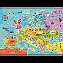 Пазл Карта Европы на 100 элементов, арт. 300129 DODO, фото 2