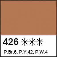 Краска акриловая для витража ДЕКОЛА коричневая, 20мл ЗХК