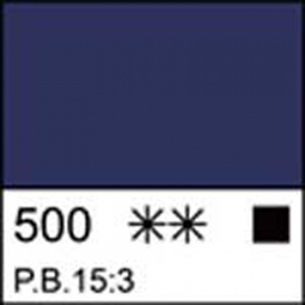 Краска акриловая ЛАДОГА, голубая ФЦ, 220мл ЗХК
