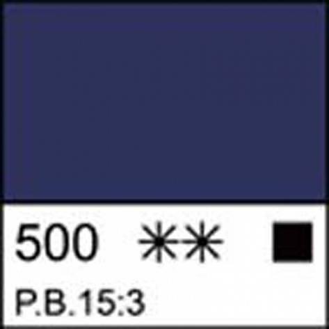 Краска акриловая ЛАДОГА, голубая ФЦ, 220мл ЗХК, фото 2