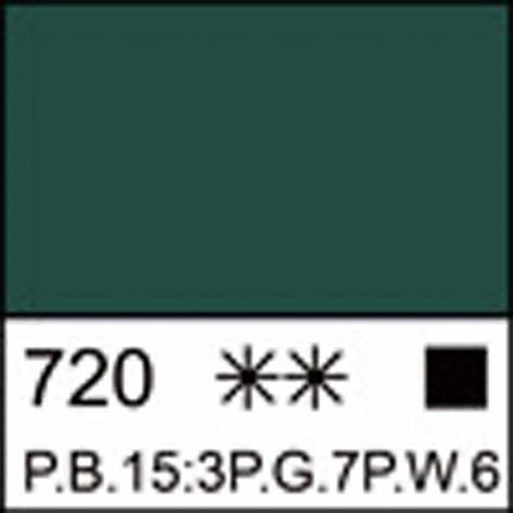 Краска акриловая ЛАДОГА, изумрудная, 100мл ЗХК, фото 2