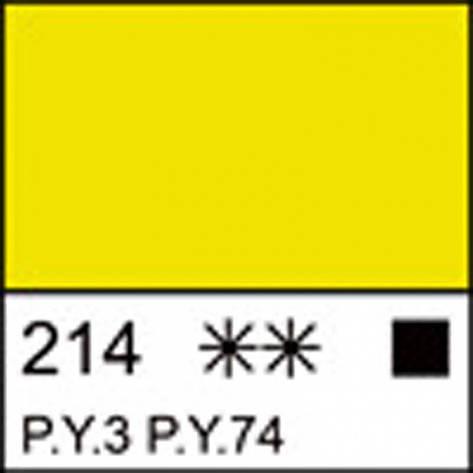 Краска акриловая ЛАДОГА, лимонная, 100мл ЗХК, фото 2