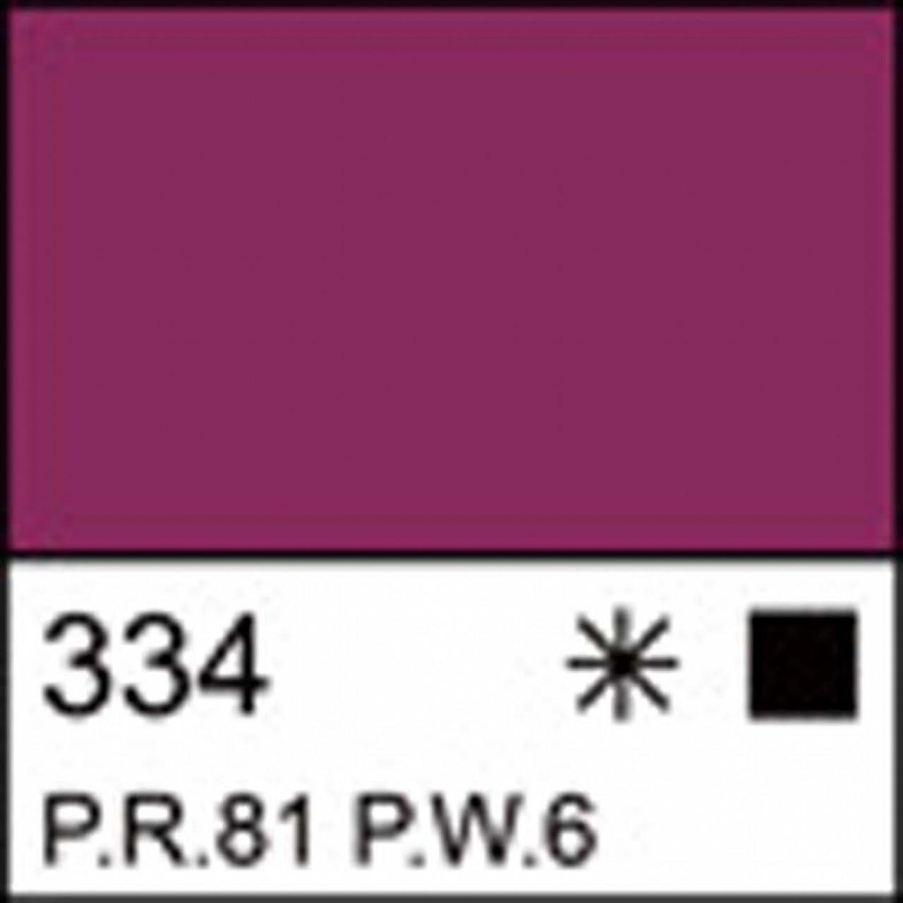 Краска акриловая ЛАДОГА, розовая темная, 100мл ЗХК