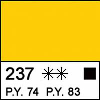 Краска акриловая МАСТЕР-КЛАСС, желтая прочная 46мл ЗХК