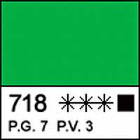 Краска акриловая МАСТЕР-КЛАСС, желто-зеленая 46мл ЗХК