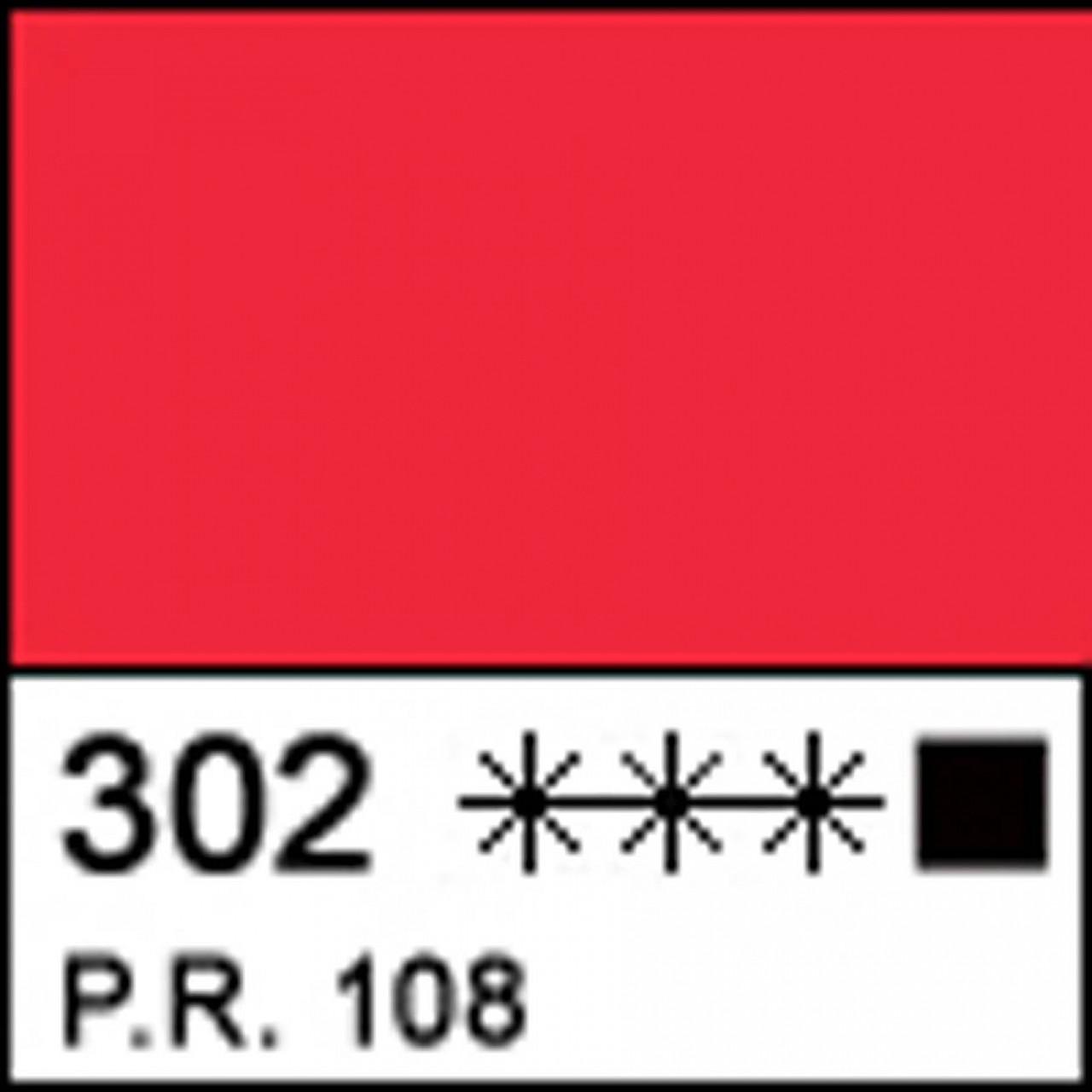 Краска акриловая МАСТЕР-КЛАСС, кадмий красный светлый 46мл ЗХК