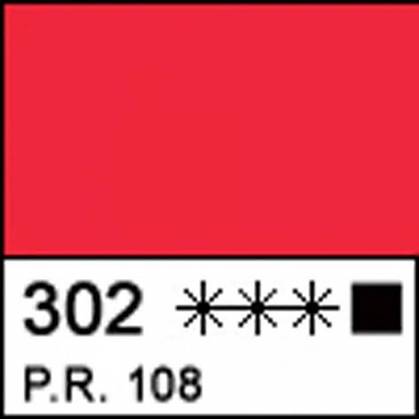 Краска акриловая МАСТЕР-КЛАСС, кадмий красный светлый 46мл ЗХК, фото 2