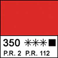 Краска акриловая МАСТЕР-КЛАСС, красная прочная 46мл ЗХК