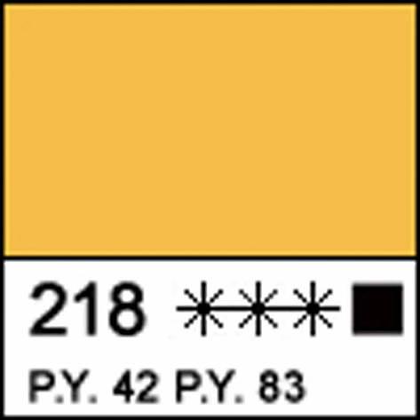Краска акриловая МАСТЕР-КЛАСС, охра желтая акрил 46мл ЗХК, фото 2