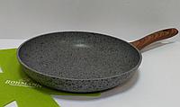 Круглая классическая сковорода Bohmann BH 1015-28 большая протипопригарная 28 см