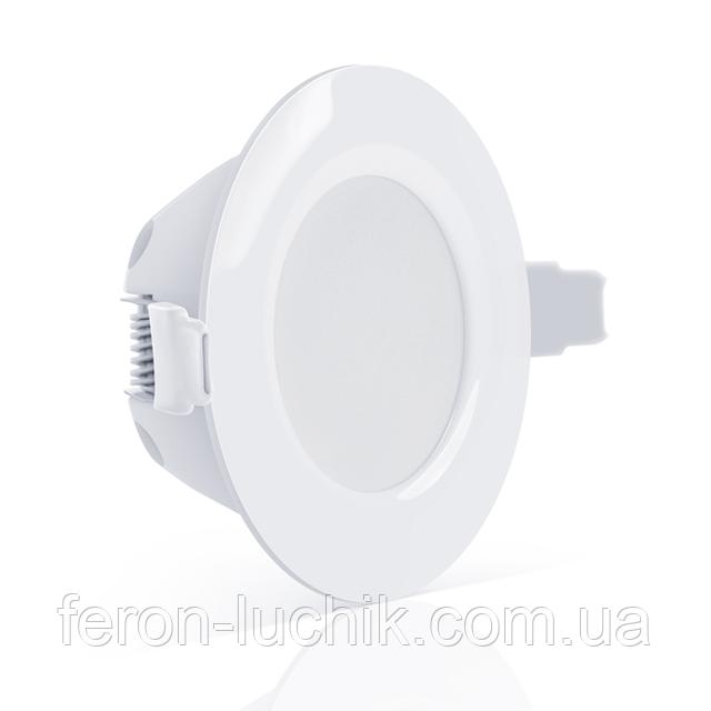 Вбудований LED світильник Maxus 4w SDL-002-01 і SDL-001-01