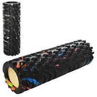 Роллер для йоги массажный Grid Roller 2126: 2 цвета, длина 33см