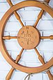 Штурвал деревянный на стену , фото 5