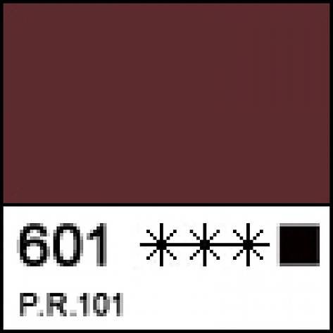 Краска масляная ЛАДОГА капут-мортуум темный, 46мл ЗХК, фото 2