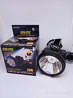 Налобный фонарь GD 216 + solar
