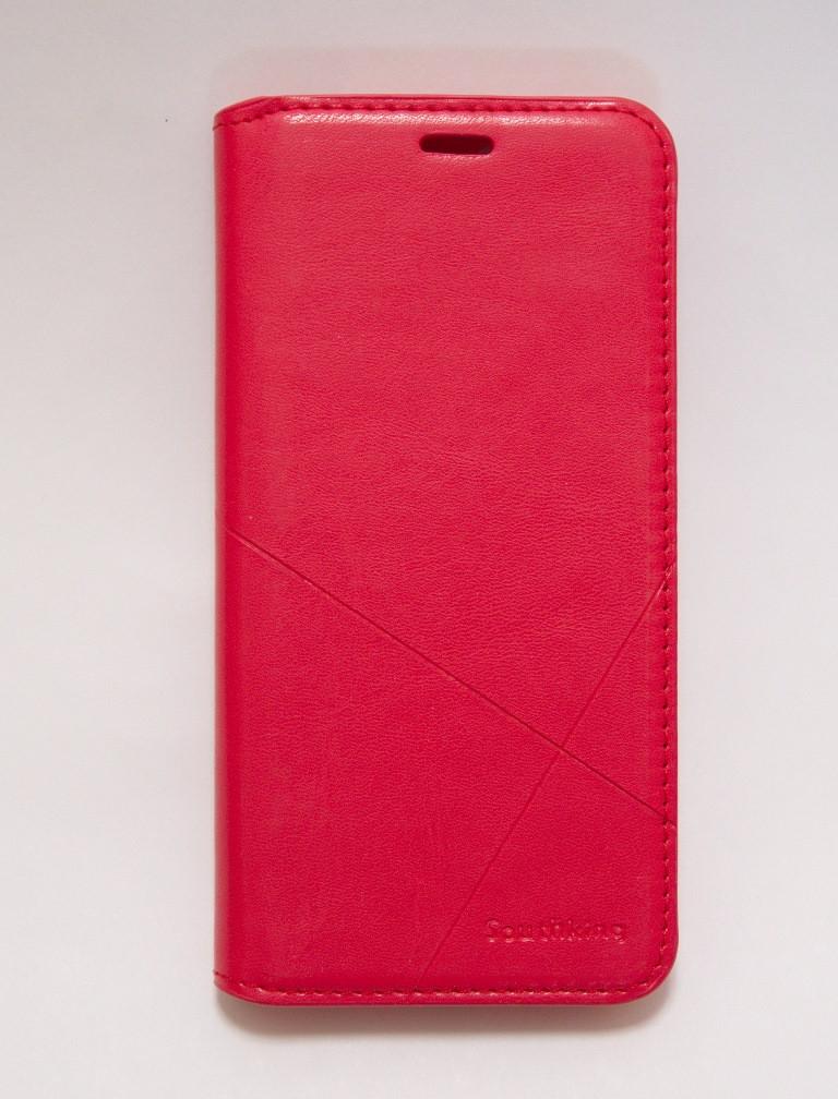 Чохол-книжка для смартфона Huawei Y6 Prime 2018 червона MKA