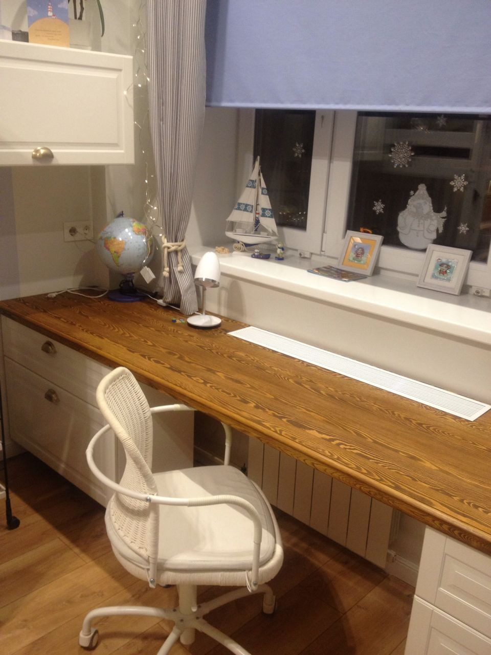 Столешница из дуба в кухню под лак, масло, фото 1