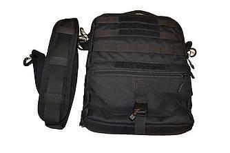 Тактическая сумка планшет Баллистика Cordura 1000 den, Black
