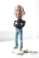 Стив Джобс большая статуэтка, сувенир, талисман, кукла, игрушка Steve Jobs (18 см)