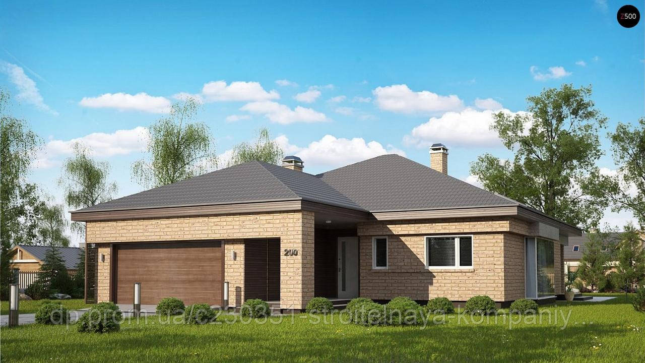 Проект дома uskd-64