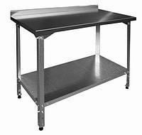 Стол производственный СПП Мастер 800/1500 Эфес разборный AISI 201 & Столы производственные из нержавеющей стали