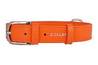 Ошейник Collar Glamour без украшений, ширина 2 см длина 30-39 см, фото 1