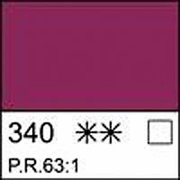 Краска масляная МАСТЕР-КЛАСС краплак фиолетовый прочный, 46мл ЗХК