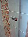Стеклянная душевая дверь 700*2000 коричневая, фото 6