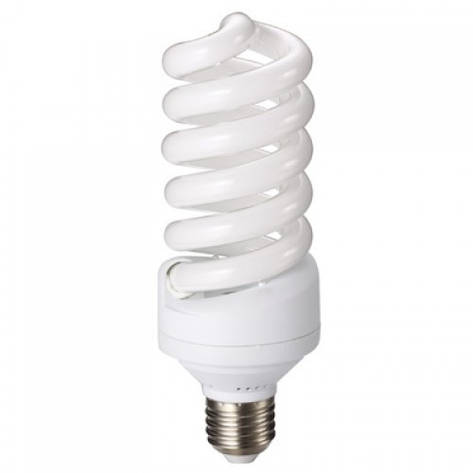 Лампа енергозберігаюча 15W E27 6400K S-15-6400-27, фото 2