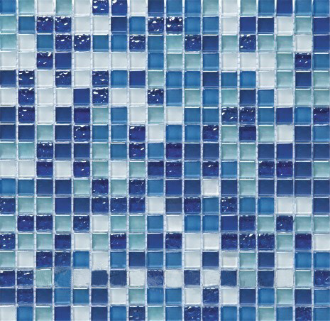 Мозаика мрамор стекло Vivacer DAF6