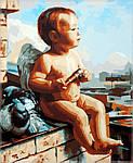 Картина по номерам на холсте Babylon Амурчик