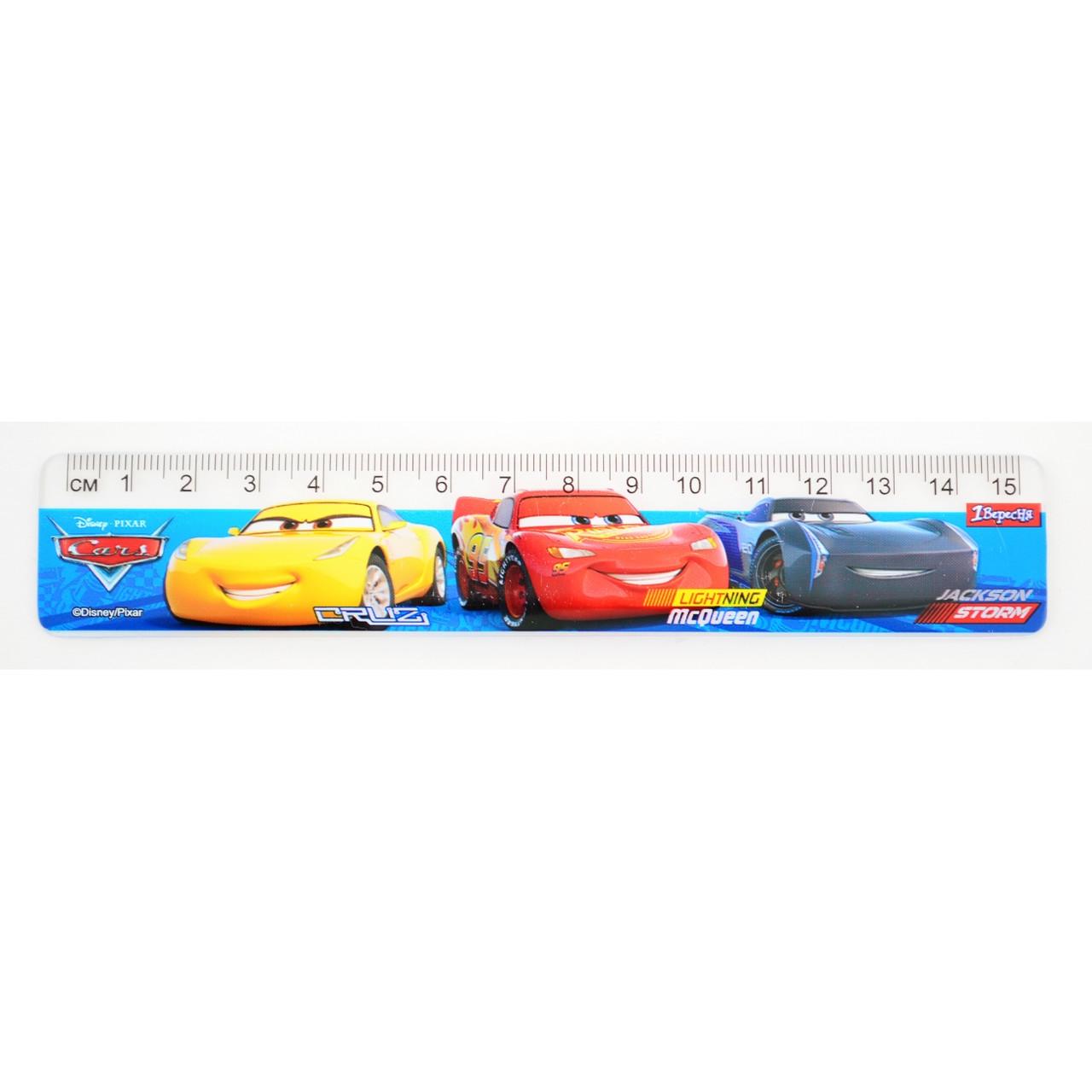 """Линейка 15 см """"Cars"""""""